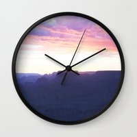 utah Wall Clocks featuring Utah by Christina A. Pepe