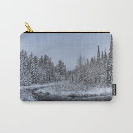 Winter in the Adirondacks Carry-All Pouch