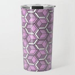 Pink and mint Travel Mug