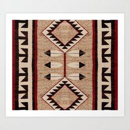 The Eternal | Navajo Pattern Art Print