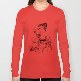 Frida Kahlo Long Sleeve T-shirt