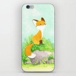 Petit renard iPhone Skin