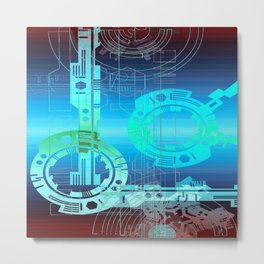 Teknico Metal Print