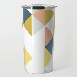 Modern Geometric Design Travel Mug