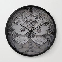 Sewn Wall Clock