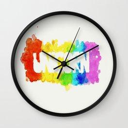 UNICORN (2)  Wall Clock