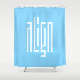 align Shower Curtain