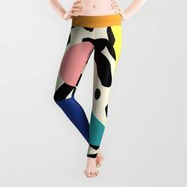 Burros de colores Leggings