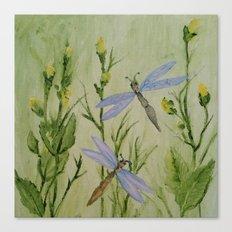 Dragonfly Dragonfly Canvas Print