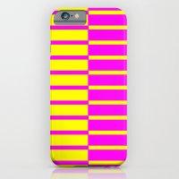 Canary Zebra Plays Piano iPhone 6s Slim Case