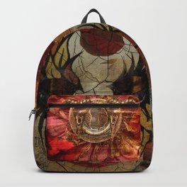 Venetian Mask in Fantasy World Backpack