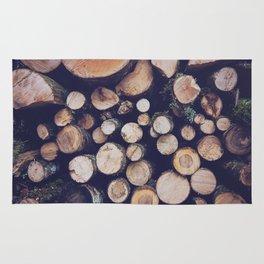firewood no. 1 Rug