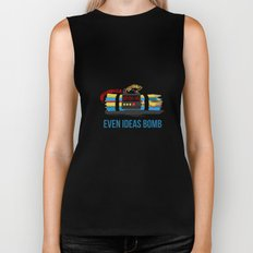 Even ideas bomb Biker Tank