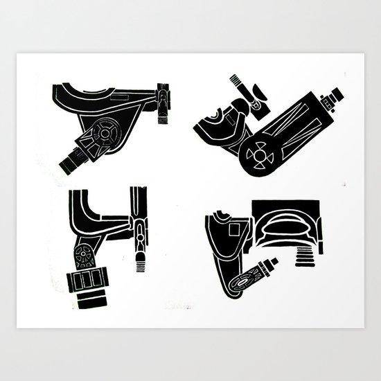 Untitled: Modulation Art Print