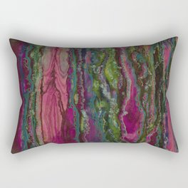 Spellbinding Impasse (Bioluminescent Field) Rectangular Pillow