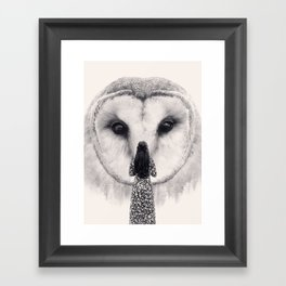 My Nocturnal Friend Framed Art Print