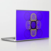 lee pace Laptop & iPad Skins featuring spirals pace by Gaspart