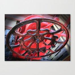Caboose Brake Wheel Canvas Print