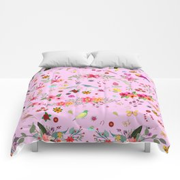 Say I love you with flowers Comforters