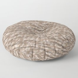 Desert Army Camouflage Floor Pillow