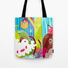 The Great Pineapple Race Tote Bag