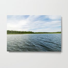 Lake Itasca - Minnesota, USA 10 Metal Print