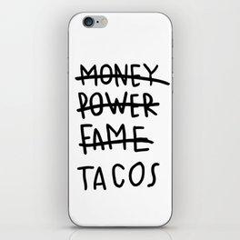 Taco Lyfe iPhone Skin