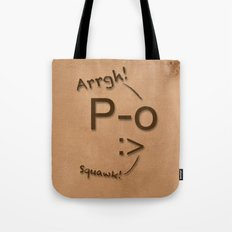Pirates Have Emoticons, Too Tote Bag