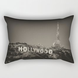Vintage Hollywood sign Rectangular Pillow