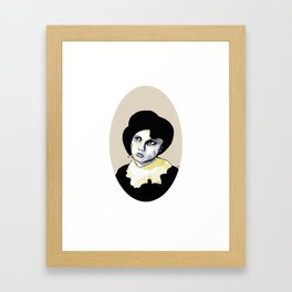 The Ringleader Framed Art Print