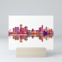 Santo Domingo Dominican Republic Skyline Mini Art Print