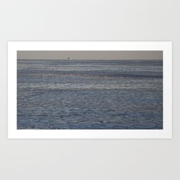 Wilson Avenue Crib Lighthouse Art Print