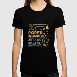Scrapbooking Christmas Paper Delightful T-shirt