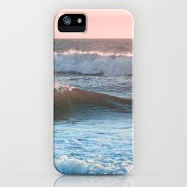 Beach Adventure Summer Waves at Sunset iPhone Case