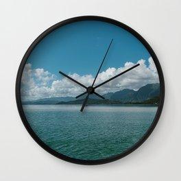 Hawaiian View Wall Clock