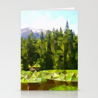 forrest Stationery Cards featuring Forest Green by IvanaW