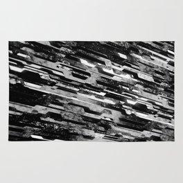 paradigm shift (monochrome series) Rug
