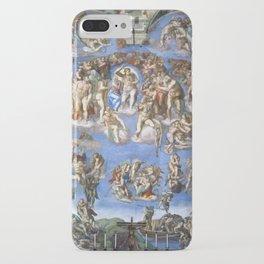Michelangelo Last Judgement iPhone Case