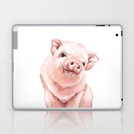 Pink Baby Pig Laptop & iPad Skin