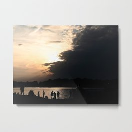 THE END OF SUMMER Metal Print