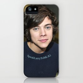 Louis' eyes iPhone Case