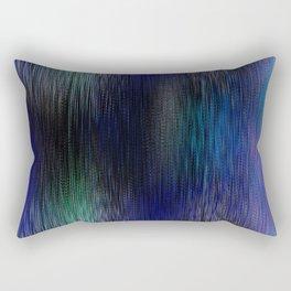 Blue Threads Rectangular Pillow