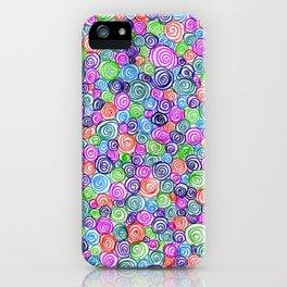 Do the Twist (bright) iPhone Case