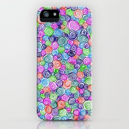 Do the Twist (bright) iPhone Case
