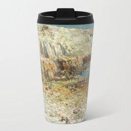 Childe Hassam A North East Headland 1901 Painting Travel Mug
