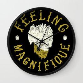 Feeling Magnifique Wall Clock