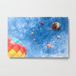 Acrylic Air Balloons Metal Print