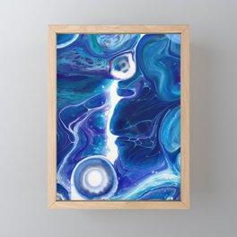 Blue Lagoon Framed Mini Art Print
