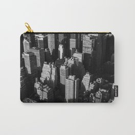 Tall buildings and skyscrapers with shadows of each other in the evening Carry-All Pouch