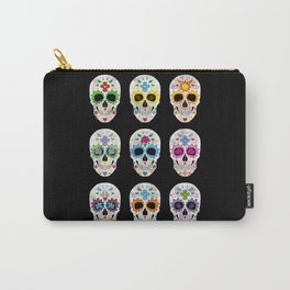 Nine skulls Carry-All Pouch